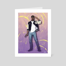 Axel Foley - The Beverly Hills Cop - Art Card by Ladislas Chachignot