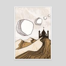 desert 2 - Canvas by Mykola Bondarchuk