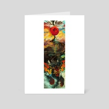 Goodbye Brother Goodbye Rock and Roll (Focus) - Art Card by Liger Inuzuka