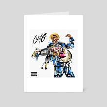 omg ronny - Art Card by femzor
