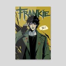 Frankie - Acrylic by Catbishonen