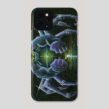 Spiderbot - Phone Case by Chris Panila