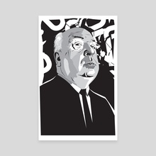 Hitchcock - Canvas by Matt  Fontaine