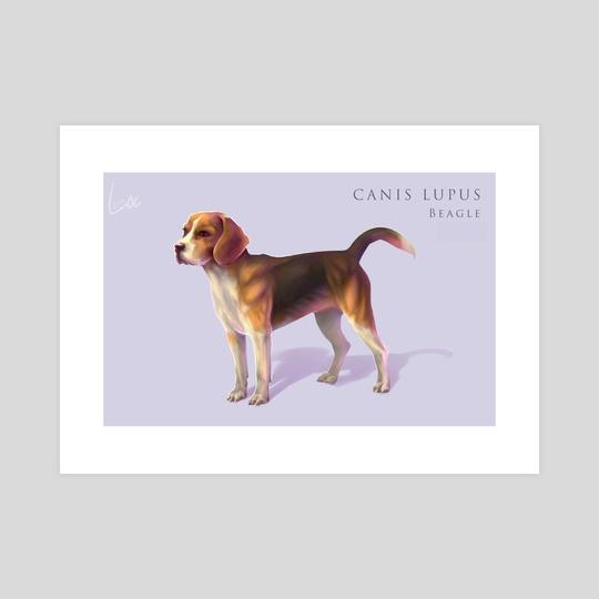 Dog Final Render by Roselyne Lougnon