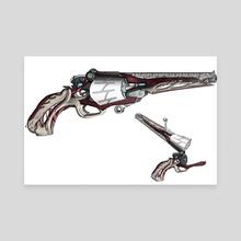 Callan Revolver - Canvas by Isaac Rader
