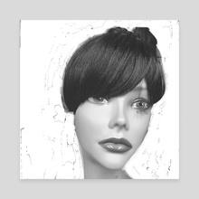 Pretty woman - Canvas by Jorge Heilpern