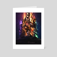 The Mandalorian - Art Card by Athul  M