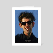 shane macgowan - Art Card by yuri shepherd