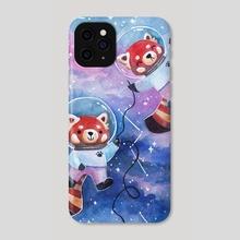 Red Panda Explorers - Phone Case by Cecile Lu