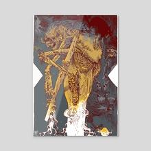 Yaga - Canvas by Artyom Trakhanov