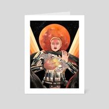 Blood Moon - Art Card by Mar Spragge