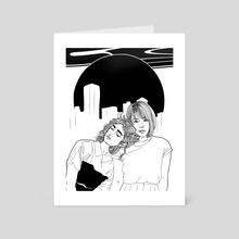 City Girls - Art Card by Audrey Henry