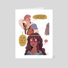 Breanne and Tisha - Art Card by Daphnée PIRKER