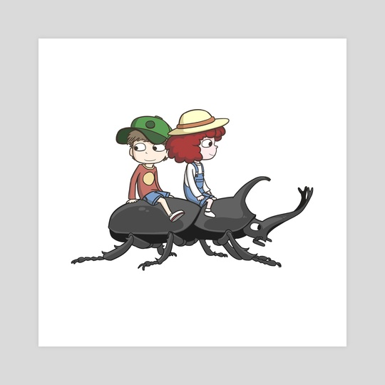 Beetle Ride by Paul Warner