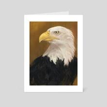 America The Bold  - Art Card by Allison Gloe