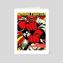 Spring Fighter 2014 - Art Card by rvsa