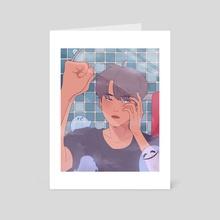 Ghostie Boi - Art Card by Dee
