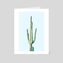 Loner Cactus - Art Card by 83 Oranges