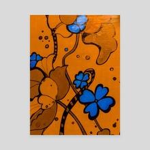 70's print  - Canvas by Lauren Scott