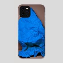 Blue Modern Art. Fine art photography. Contemporary style. - Phone Case by Panda Avenue