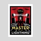 Master of Lightning - Art Print by Elliot Boyette