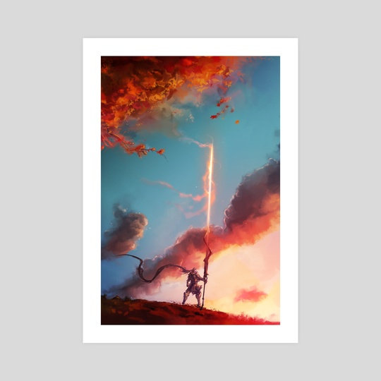 The Autumn Lancer by Aaron Nakahara