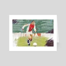 de verlosser print - Art Card by MD JO