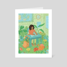 Outdoor Education - Art Card by Gaby D'Alessandro