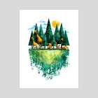 Geo Forest - Art Print by Fil Gouvea