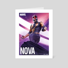 Nova - Sam Alexander - Art Card by Art Of Asher
