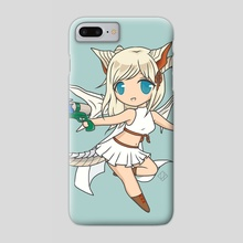 Chibi Myr - Phone Case by Larissa Punzalan