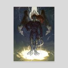 Izixs - Canvas by Jonathan Vair Duncan