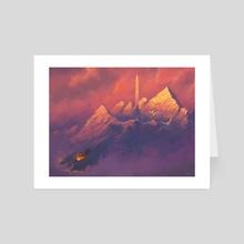 Valhalla - Art Card by Claudio Pozas