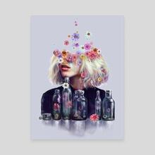 Metamorphosis - Canvas by Veronika Vajdová