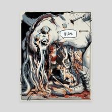 20190813_Bloody Mess - Canvas by Steven Wen