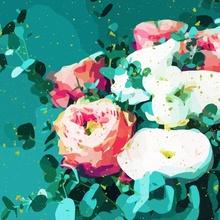 Floral & Confetti - Canvas by 83 Oranges