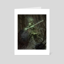 Ghostblade Duelist - Art Card by Felipe Escobar