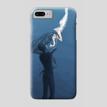 The Moon and the Sun - Phone Case by Cazel Rulloda