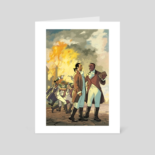 Aaron Burr, Sir by Rebecca Mock