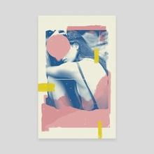 Woman - Canvas by Mina Wright