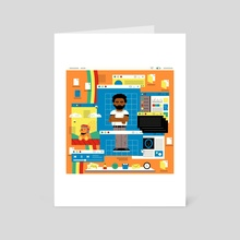Because the Internet - Art Card by Defaced  Studio