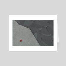 Edge - Art Card by Naftali Beder