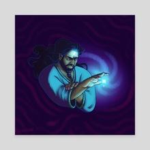 Blue Magic - Canvas by Fwishbone
