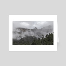 Deqen 5 - Yunnan - China - Art Card by Tom Brandon