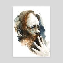 FACE#18 - Canvas by Rafał Wnęk