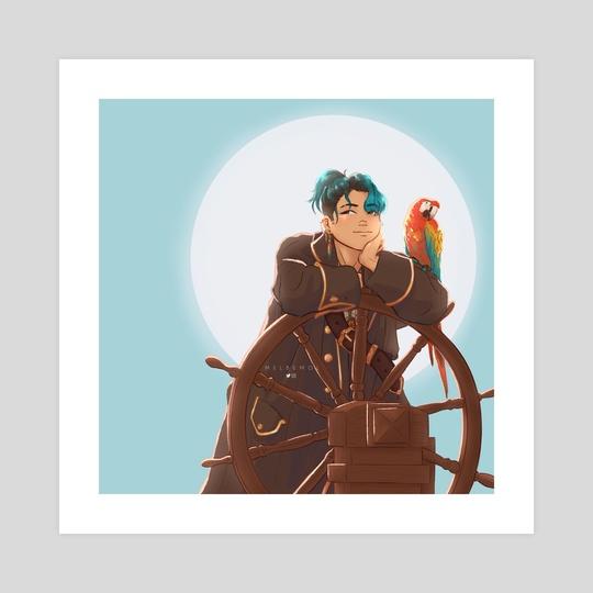 Pirate Luka by Mélanie Bouillat