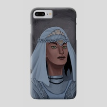 Sunless Realm Knight - Phone Case by Alessia Colognesi