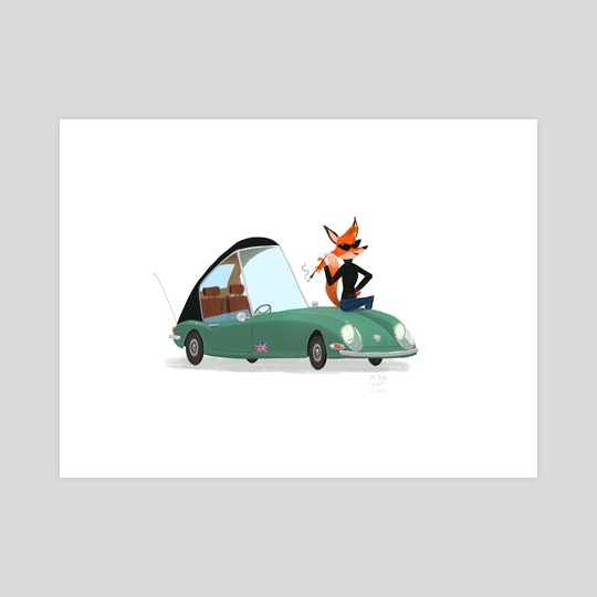 Foxy Coupe by Jez Tuya
