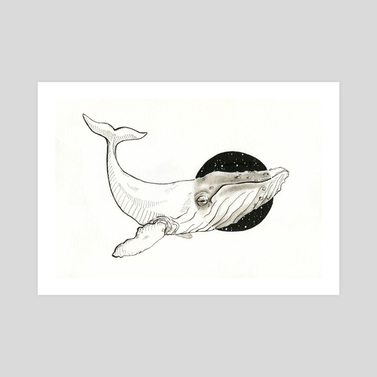 "Whale by Dana ""Tsuki"" Cecile"