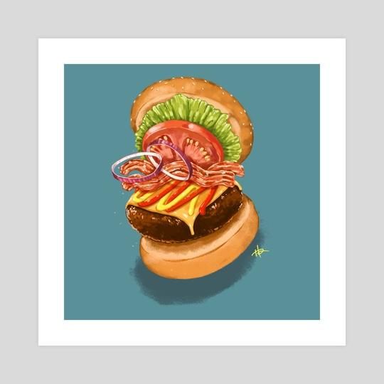 I Dream of Burgers by Hannah Ahn